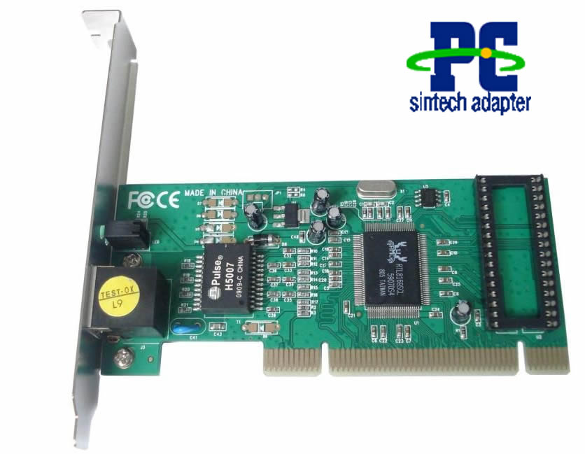 PCI 32bits gigabit 1000M lan adapter converter card RTL8169SC